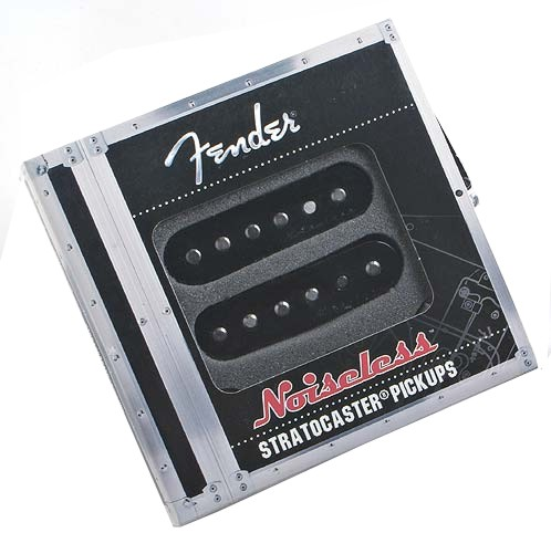Fender Vintage Noiseless Strat Pickup Set Black