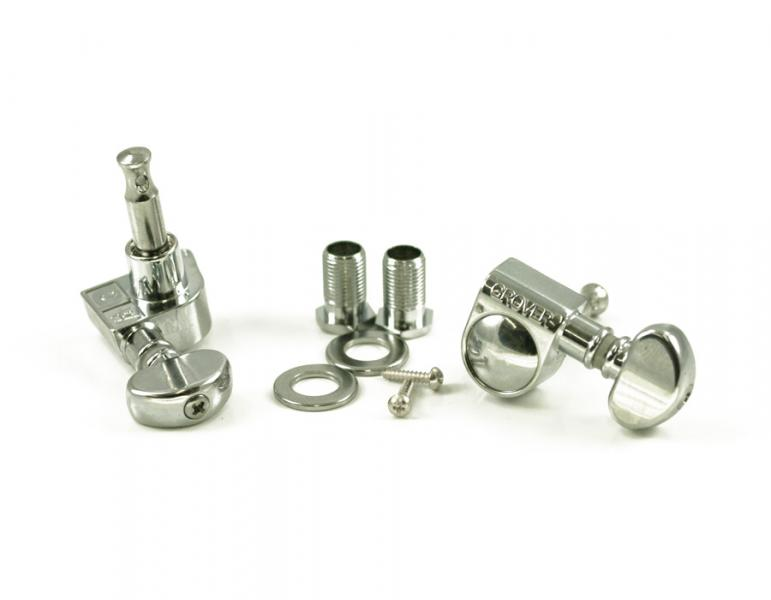 GROVER 305 MID ROTOMATIC 6 INLINE CHROME