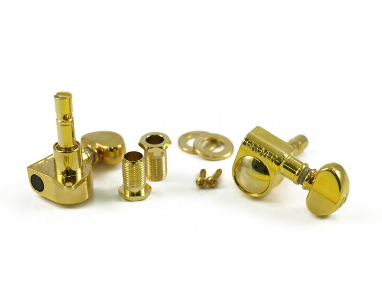 GROVER 406 MINI LOCKING ROTOMATIC 3 PER SIDE GOLD