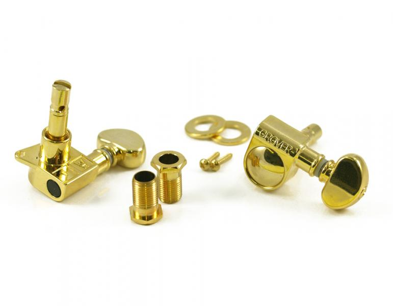 GROVER 406 MINI LOCKING ROTOMATIC 6 INLINE GOLD