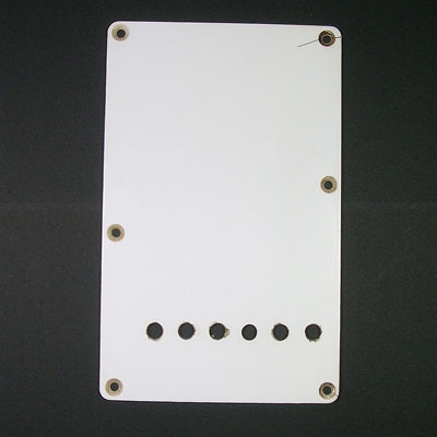MONTREUX RETROVIBE 54 STRAT BACKPLATE RELIC