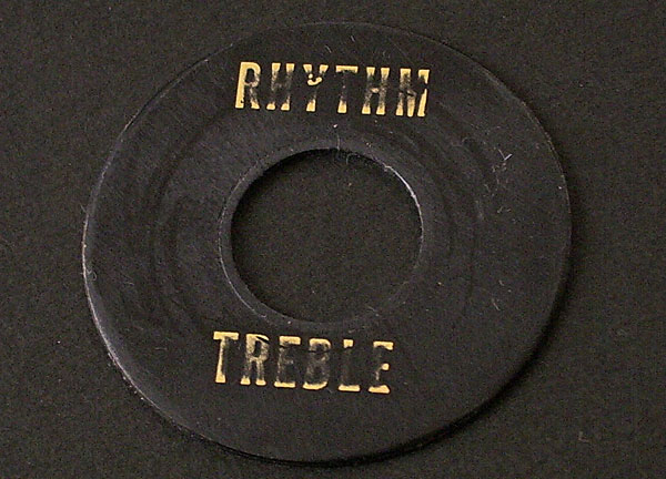 MONTREUX TIME MACHINE 56 RHYTHM/TREBLE RING BLACK RELIC