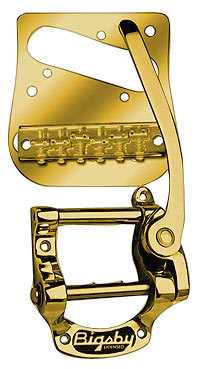 BIGSBY TELECASTER KIT GOLD