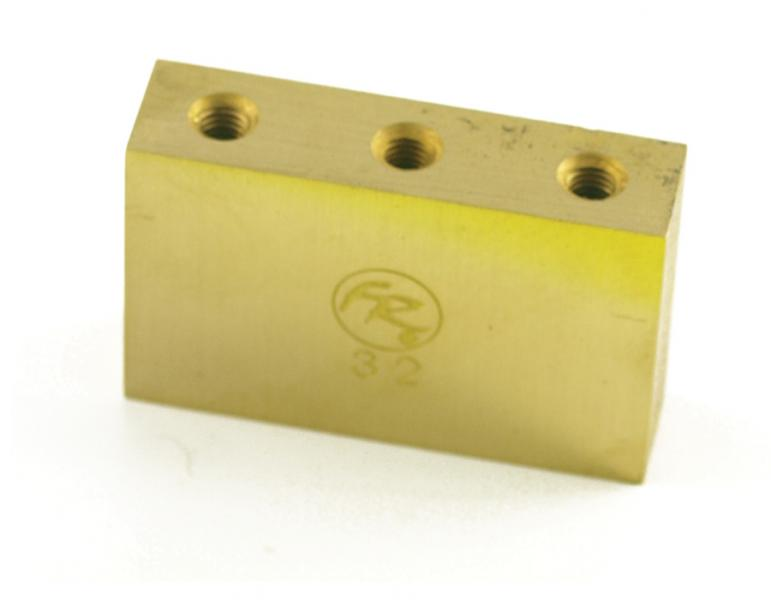FLOYD ROSE BRASS FAT TREMOLO BLOCK 32MM