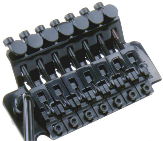 FLOYD ROSE 7 STRING TREMOLO BLACK