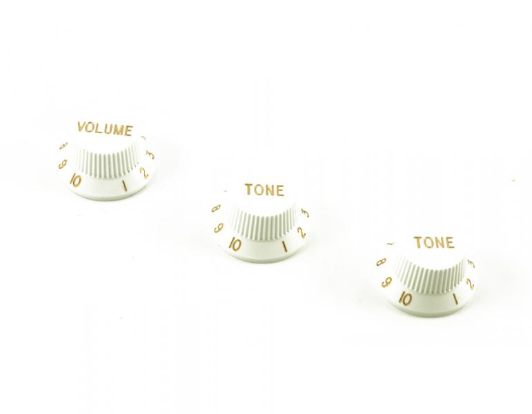 Metric Knob Set White