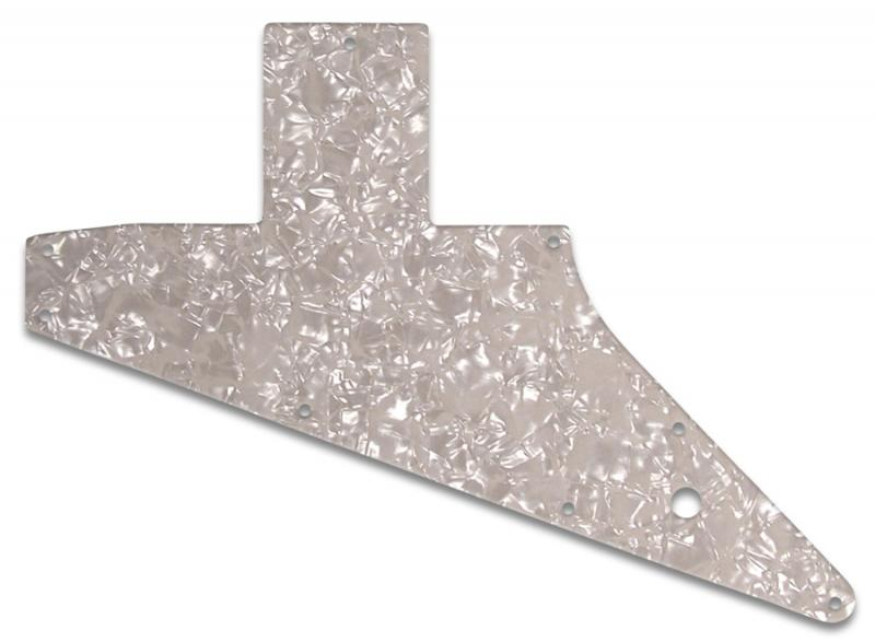 GIBSON EXPLORER PICKGUARD AGED PEARL