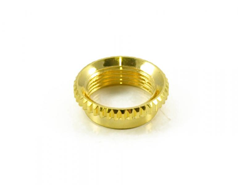 VINTAGE NUT FOR TOGGLE SWITCH GOLD