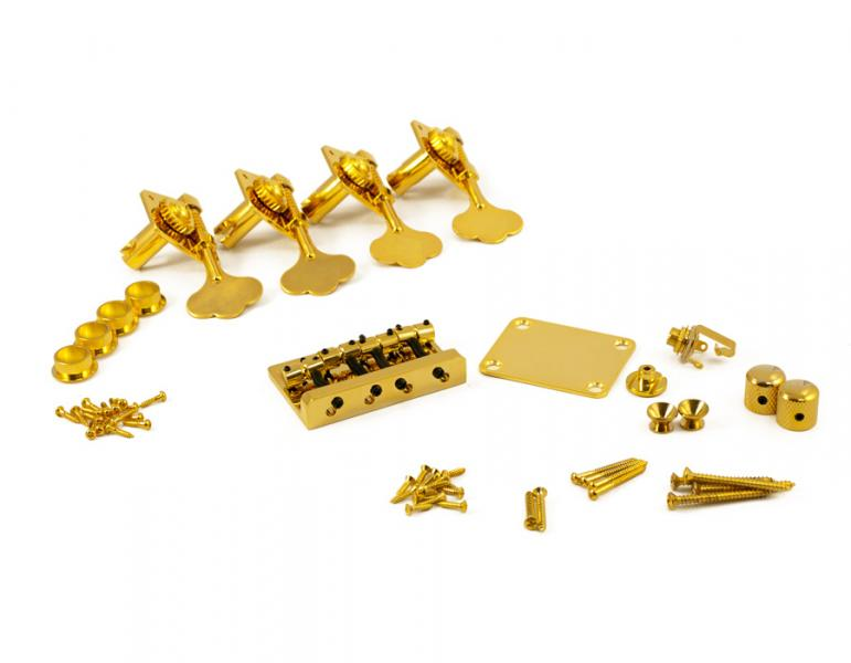 P BASS DELUXE GOLD HARDWARE UPGRADE KIT
