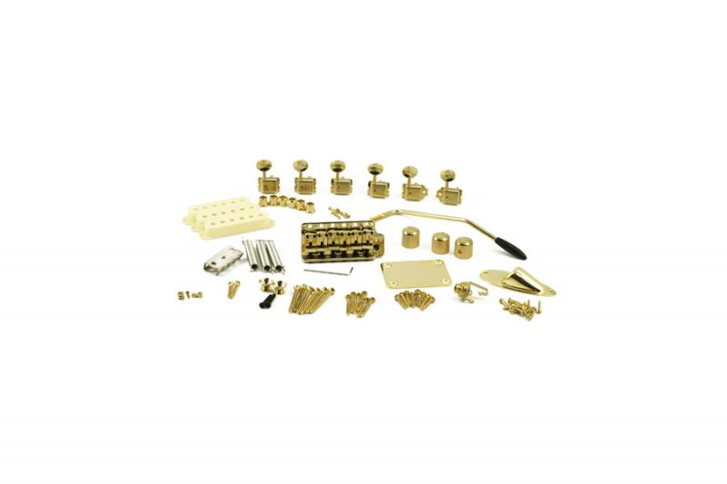 STRAT DELUXE GOLD HARDWARE UPGRADE KIT