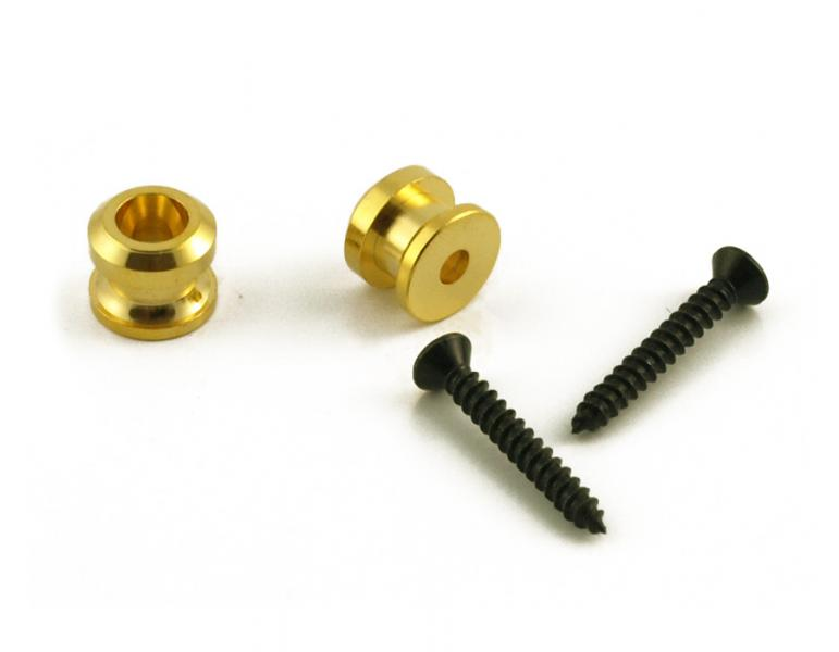 GROVER QUIK-RELEASE STRAP LOCK ENDPINS GOLD