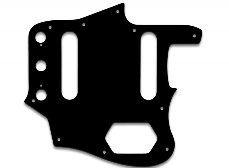 FENDER JAGUAR PICKGUARD BLACK