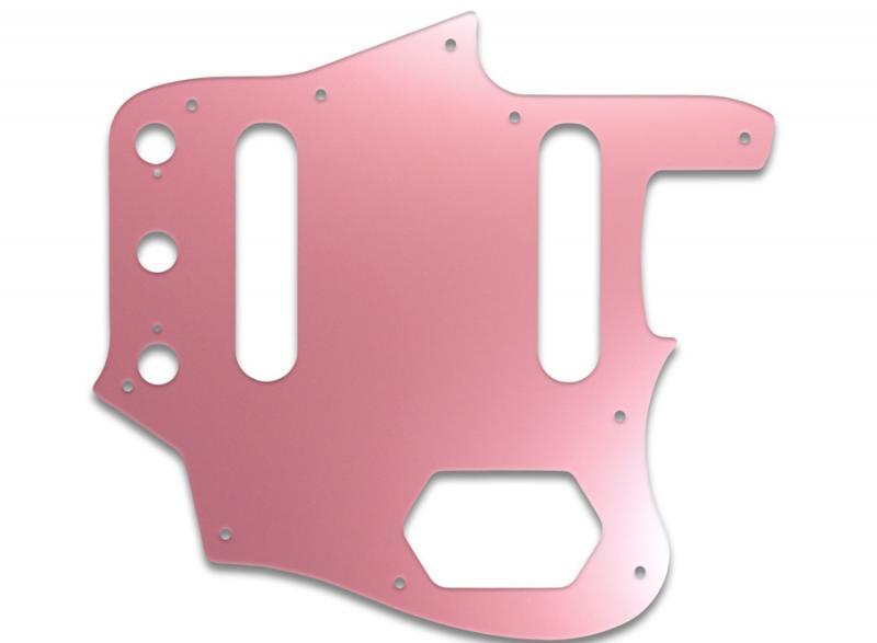 fender jaguar pickguard pink mirror guitar parts worldwide. Black Bedroom Furniture Sets. Home Design Ideas