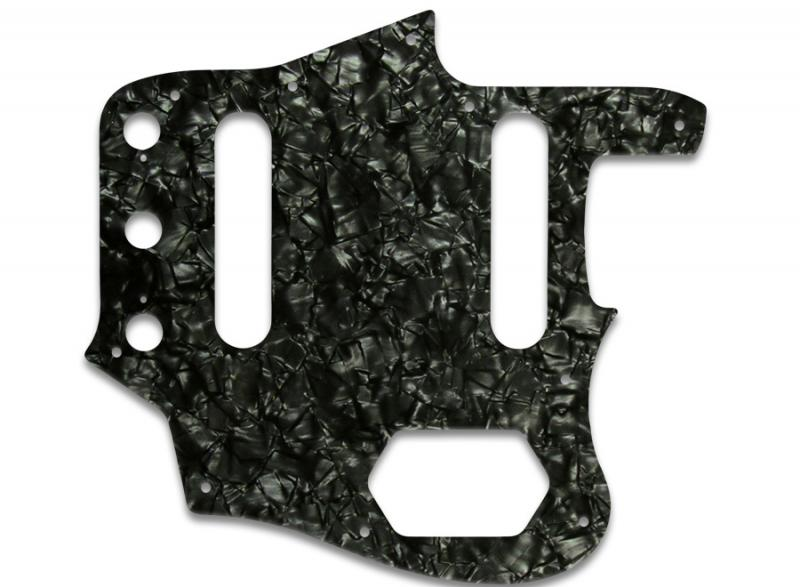 FENDER JAGUAR PICKGUARD BLACK PEARL