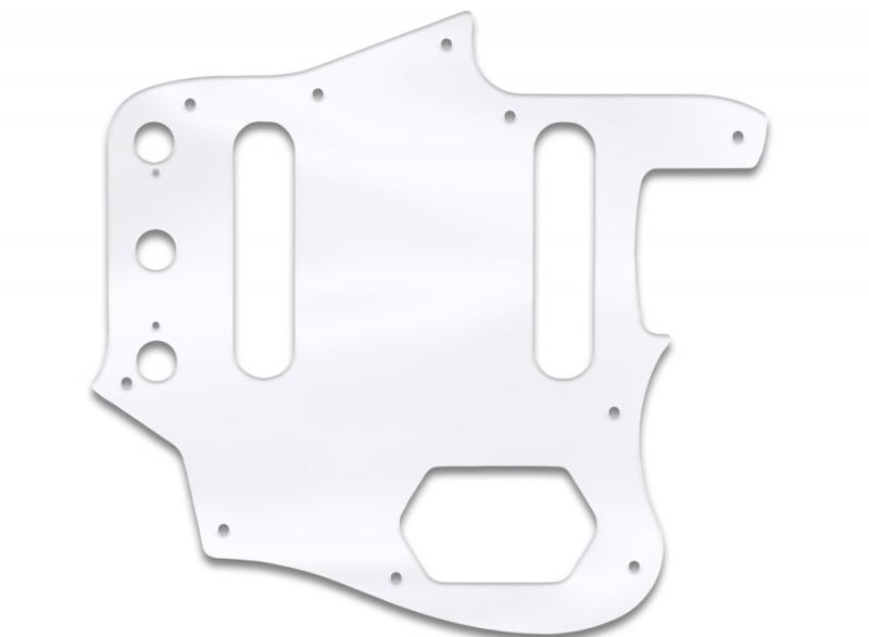 fender jaguar pickguard clear acrylic
