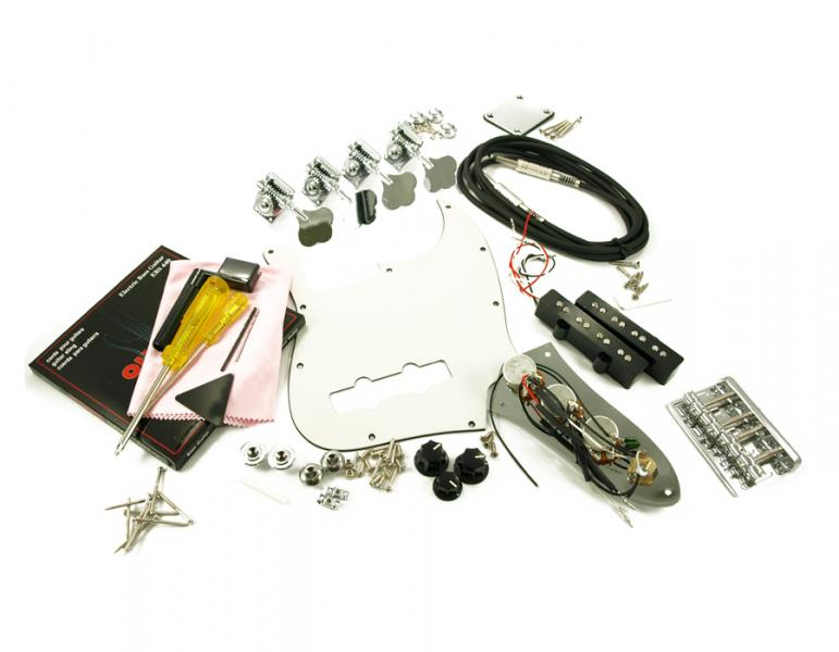 JAZZ BASS CHROME HARDWARE UPGRADE KIT