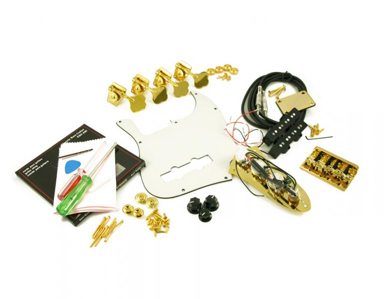 JAZZ BASS GOLD HARDWARE UPGRADE KIT
