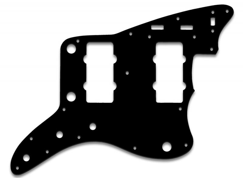 FENDER JAZZMASTER PICKGUARD BLACK