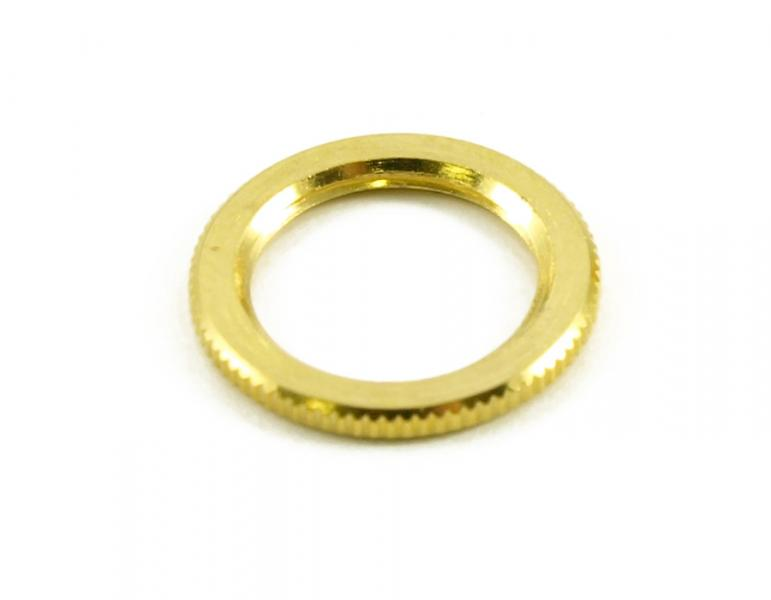 DRESS NUT FOR TOGGLE SWITCH GOLD