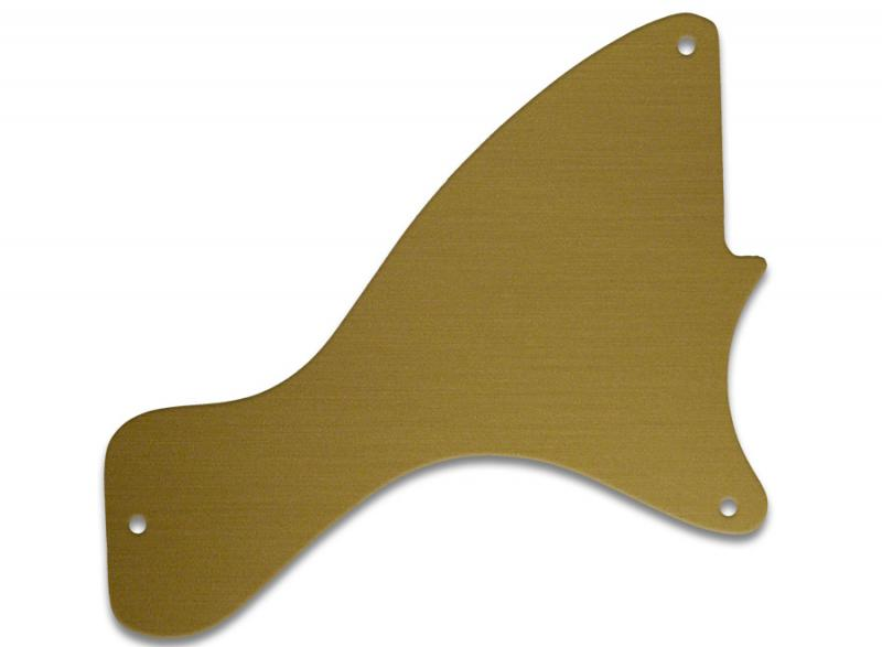 GIBSON LES PAUL JUNIOR PICKGUARD SIMULATED GOLD ANODISED
