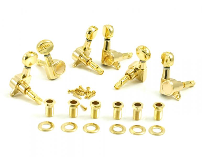 DIE CAST LOCKING 6 INLINE GOLD