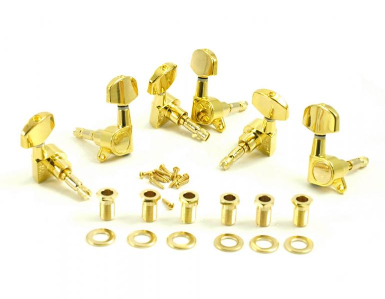 DIE CAST LOCKING 3 PER SIDE GOLD