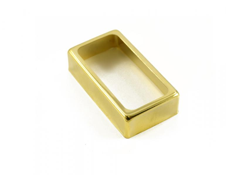 EXPOSED HUMBUCKER PICKUP COVER GOLD