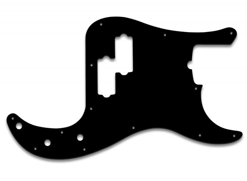 FENDER PRECISION BASS PICKGUARD BLACK