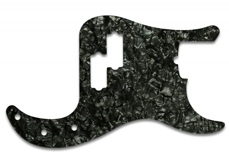 FENDER PRECISION BASS PICKGUARD BLACK PEARL