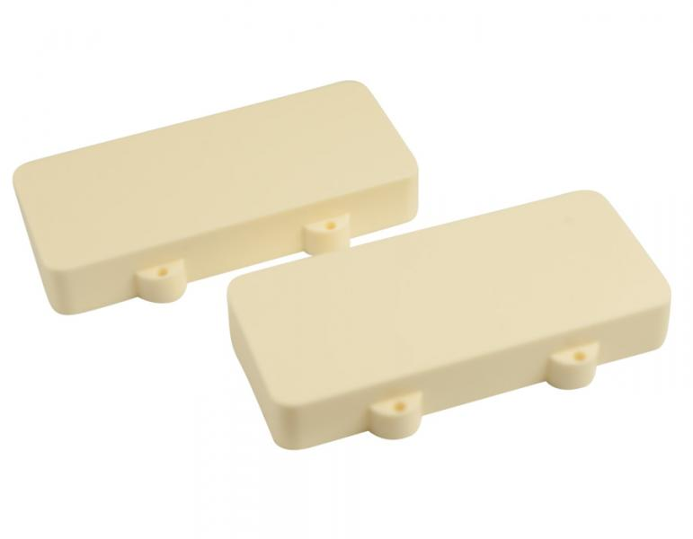JAZZMASTER PICKUP COVERS AGED WHITE NO HOLES