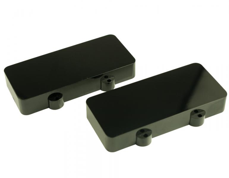 JAZZMASTER PICKUP COVERS BLACK NO HOLES