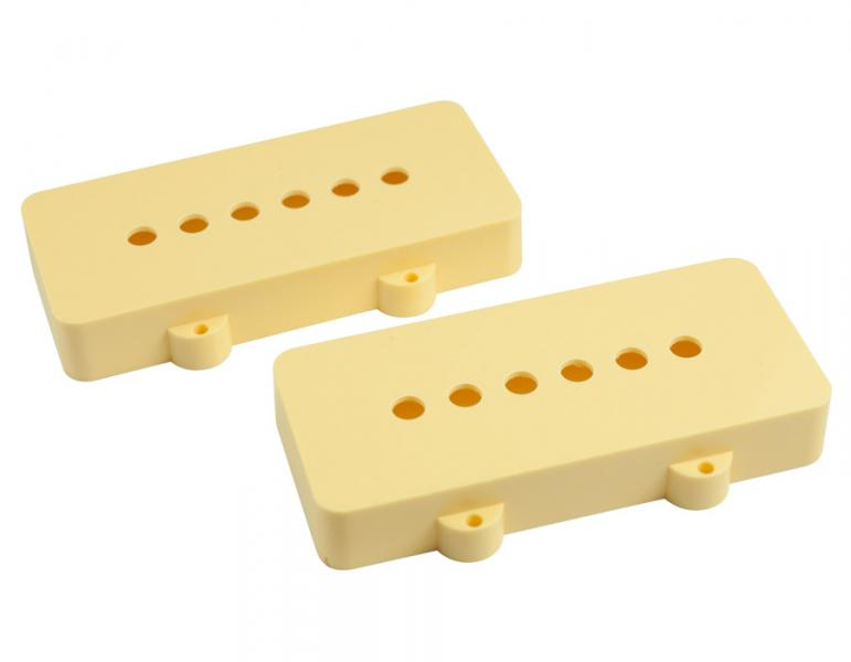 JAZZMASTER PICKUP COVERS CREAM