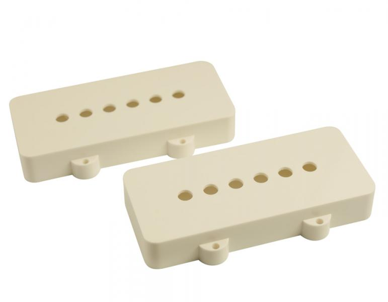 JAZZMASTER PICKUP COVERS WHITE