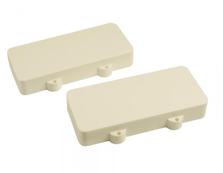 JAZZMASTER PICKUP COVERS WHITE NO HOLES