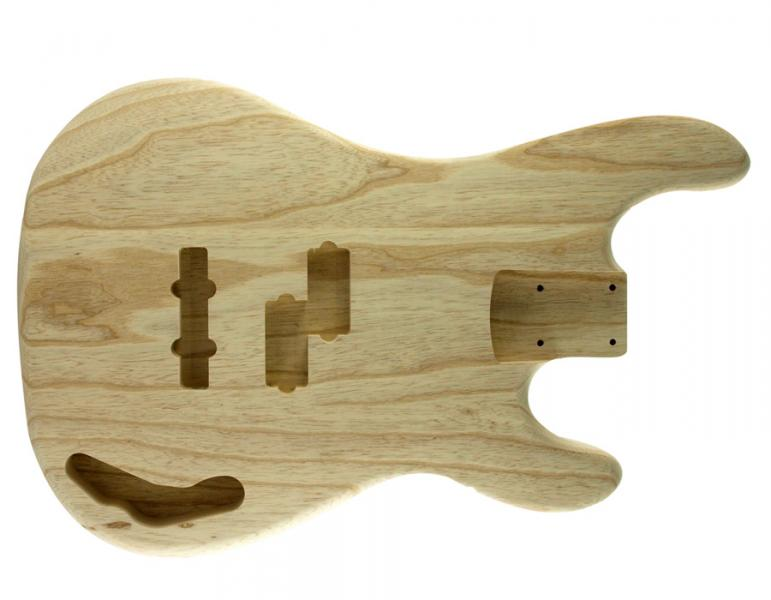 PJ BASS BODY ALDER UNFINISHED