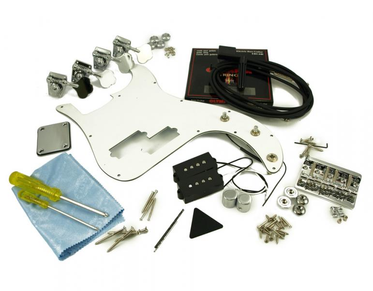 PRECISION BASS CHROME HARDWARE UPGRADE KIT