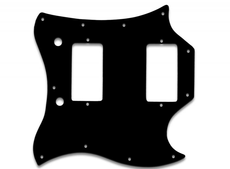 GIBSON SG FULL FACE PICKGUARD BLACK