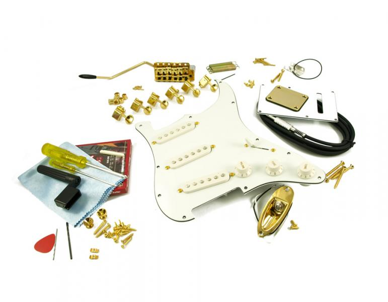 STRATOCASTER GOLD HARDWARE UPGRADE KIT