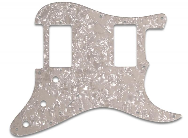 FENDER STRATOCASTER HH PICKGUARD AGED PEARL