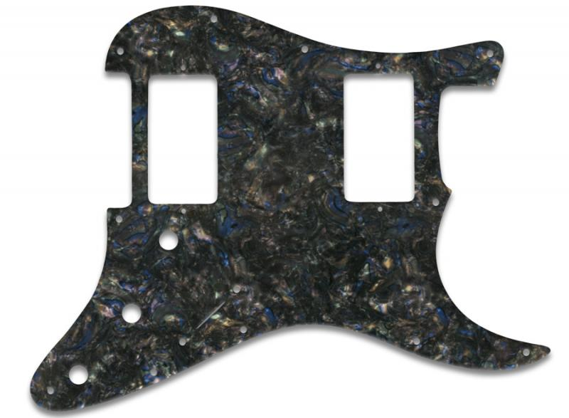 FENDER STRATOCASTER HH PICKGUARD ABALONE