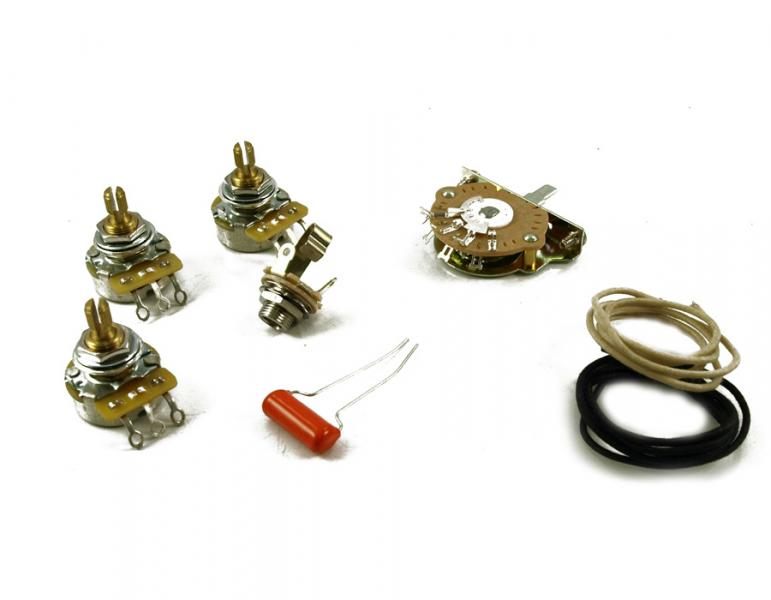 STRATOCASTER WIRING KIT 5 WAY