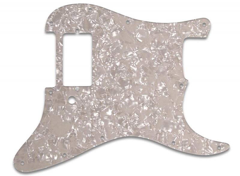 FENDER STRATOCASTER HB PICKGUARD AGED PEARL