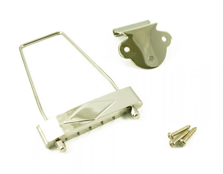 ES & L SERIES TAILPIECE NICKEL