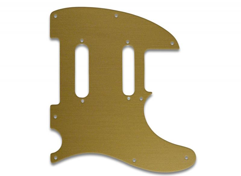 fender telecaster nashville pickguard simulated gold anodised guitar parts worldwide. Black Bedroom Furniture Sets. Home Design Ideas