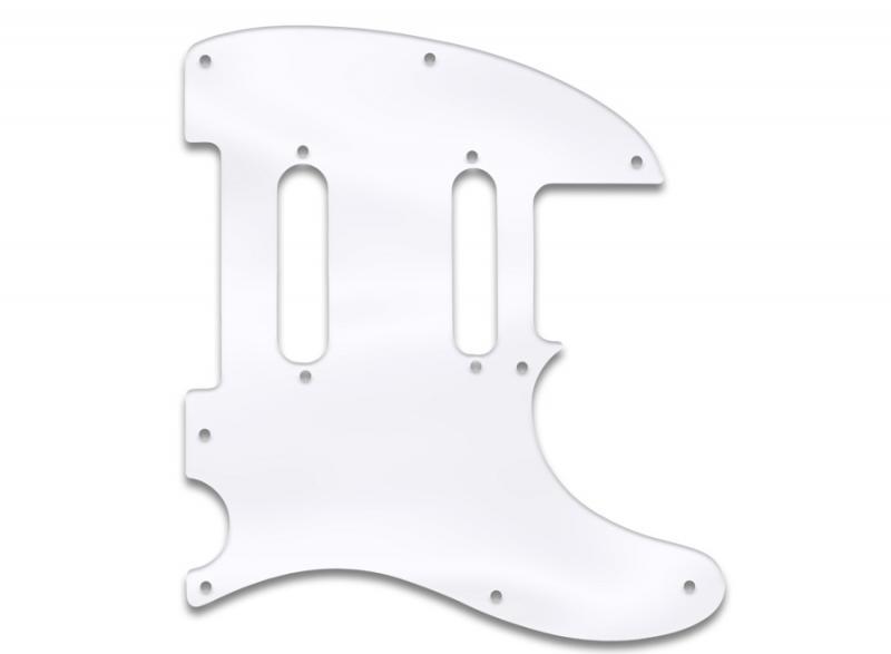 fender telecaster nashville pickguard clear acrylic