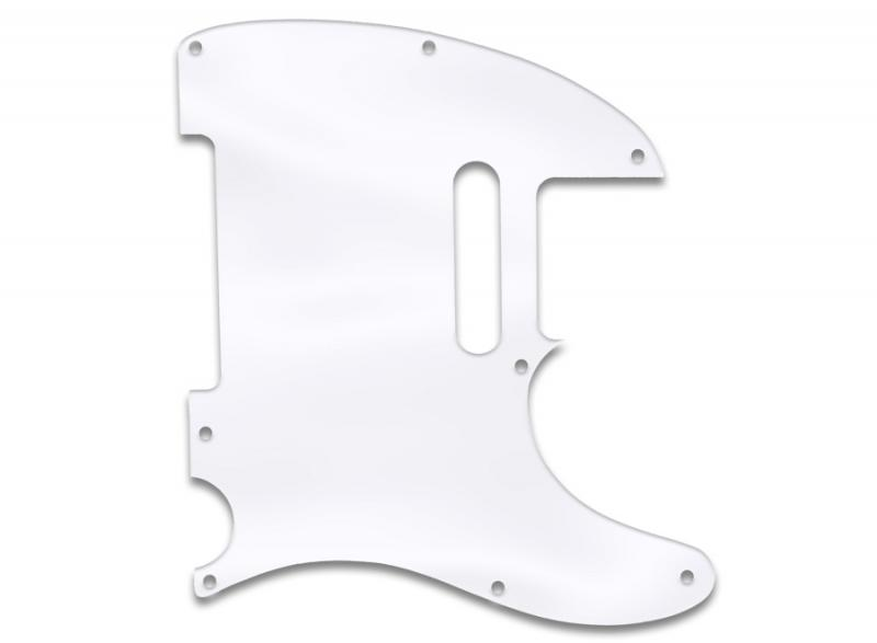 fender telecaster pickguard clear acrylic