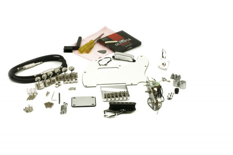 TELECASTER CHROME HARDWARE UPGRADE KIT