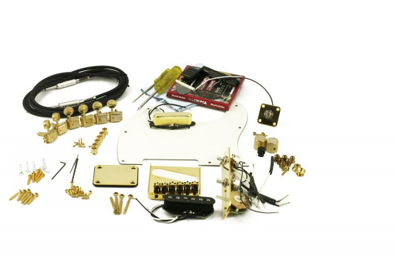 TELECASTER GOLD HARDWARE UPGRADE KIT