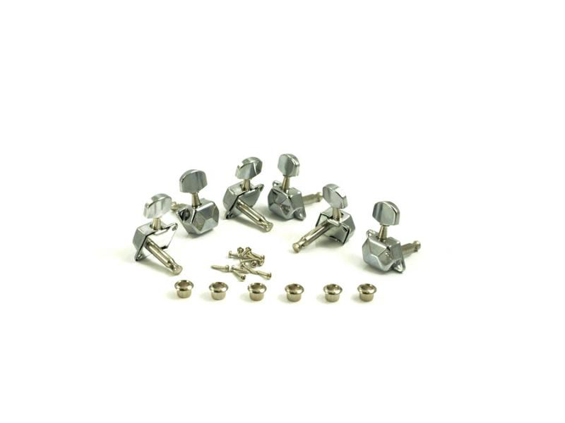 ECONOMY STEEL STRING TUNERS 6 INLINE