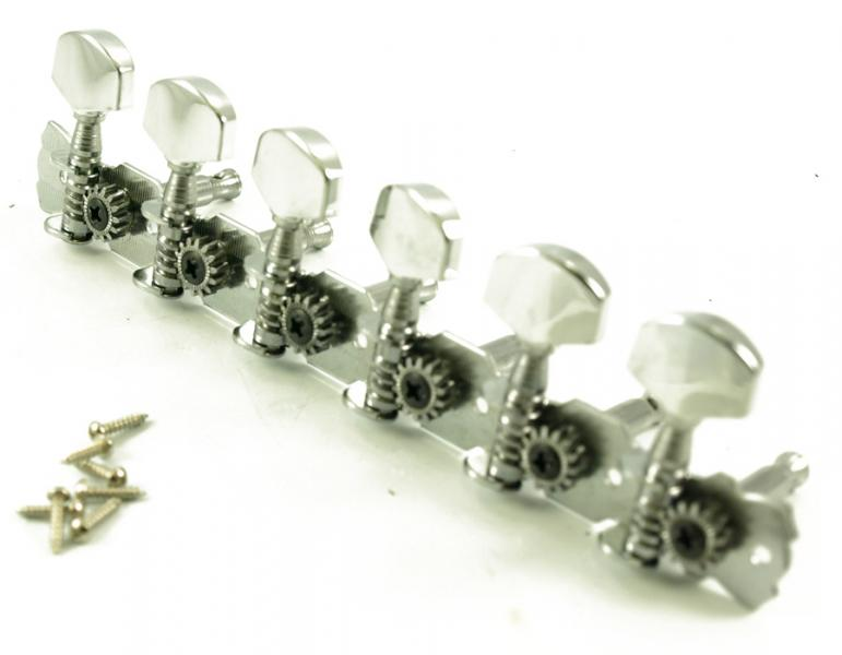 ECONOMY STEEL STRING TUNERS 6 ON PLATE
